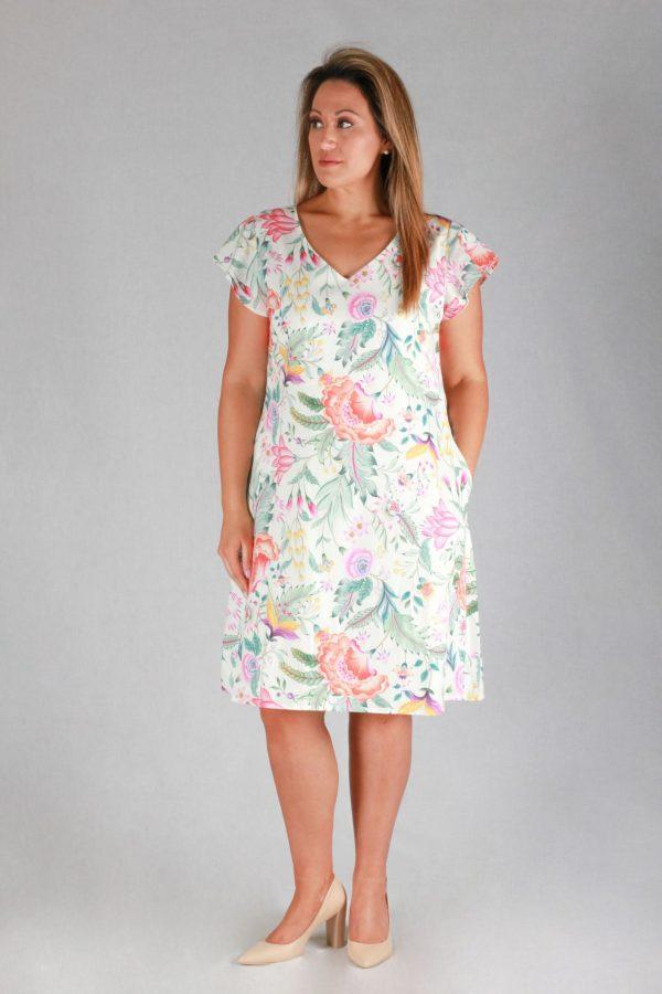 Lady Melba Dress Front