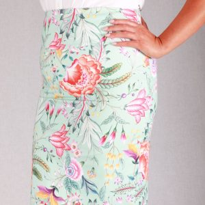 Peach Melba Skirt Side